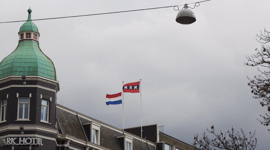 Amsterdam flag