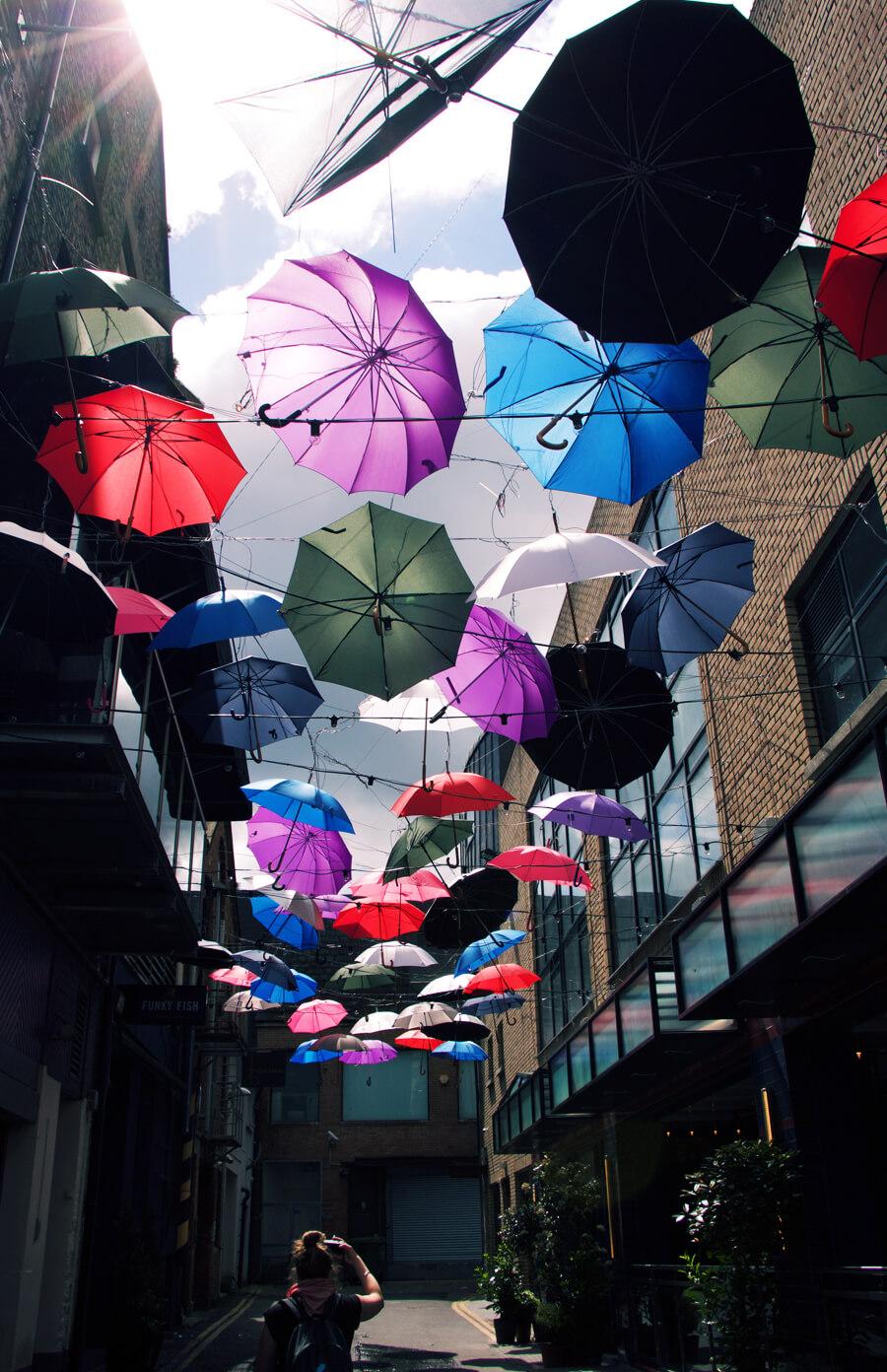 Dublin umbrellas