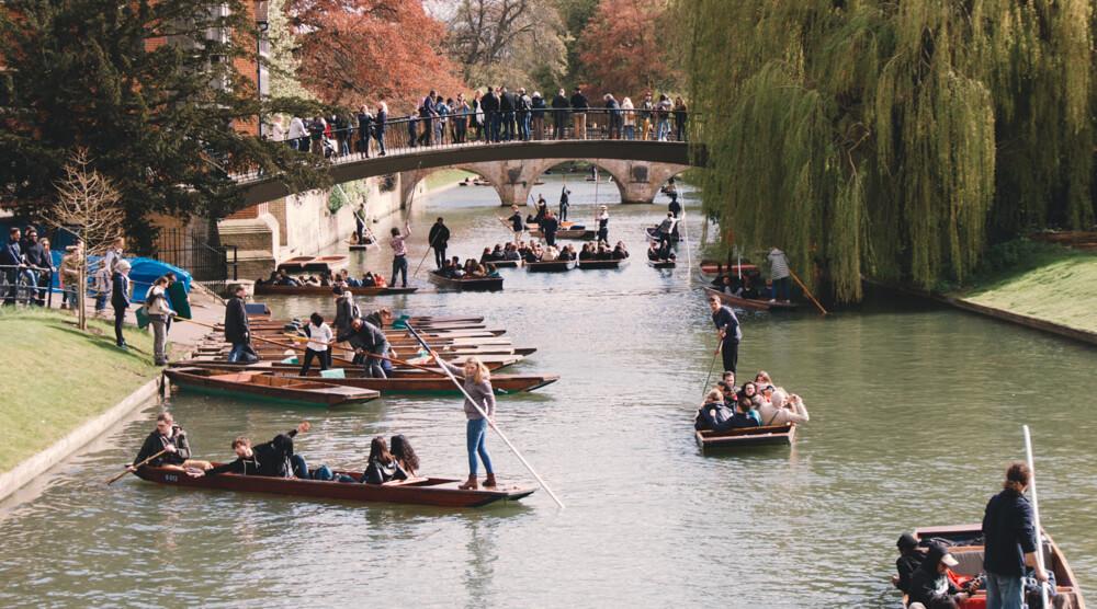 University of Cambridge punting