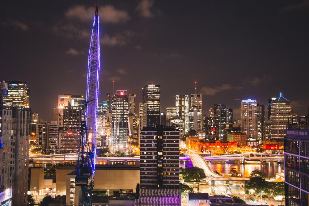 Brisbane night lights