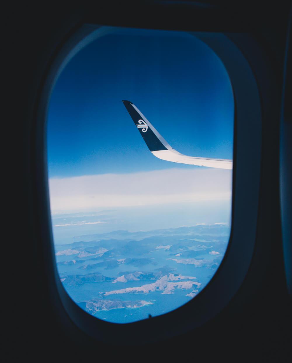Air New Zealand South Island
