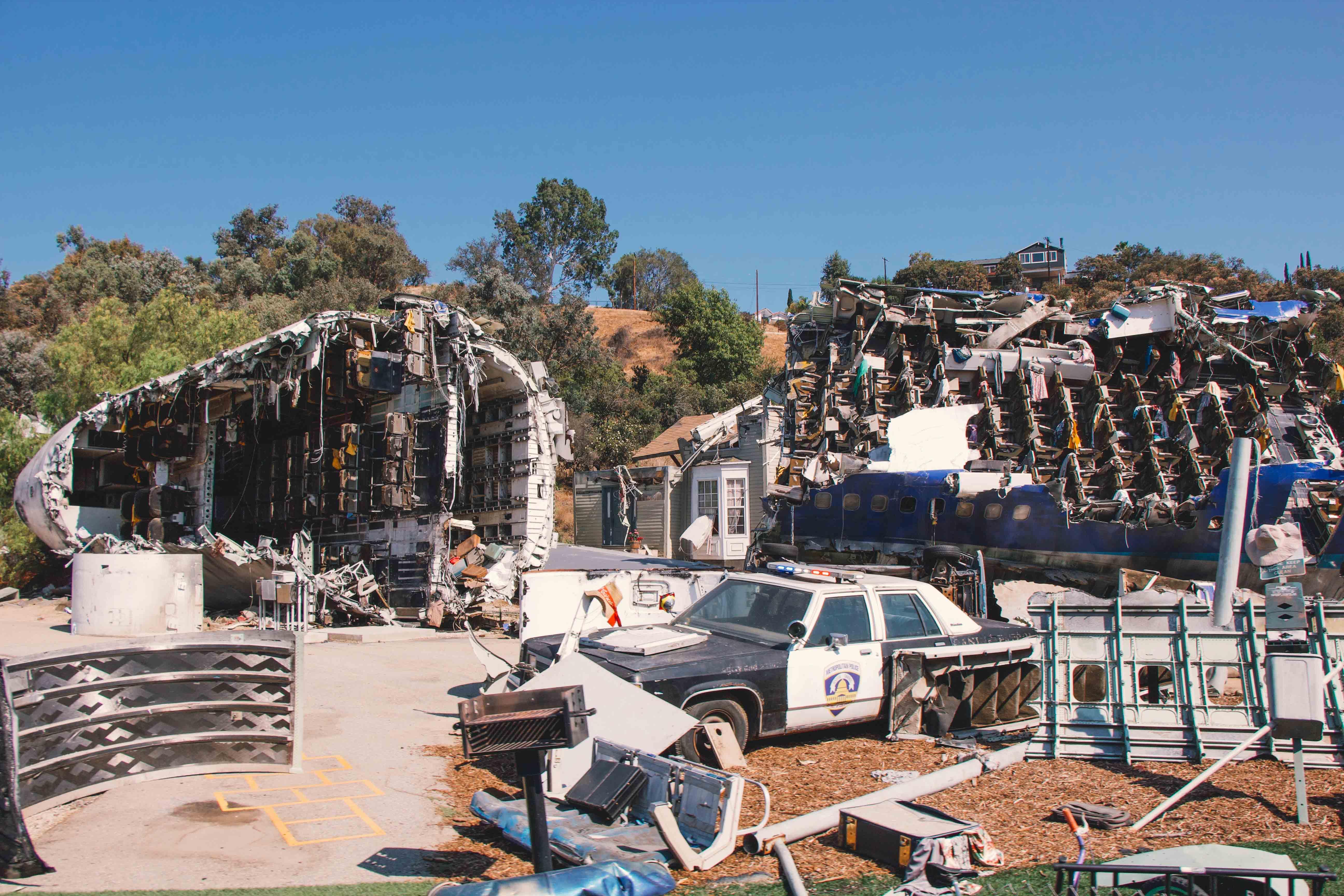 Universal Studios war of the worlds