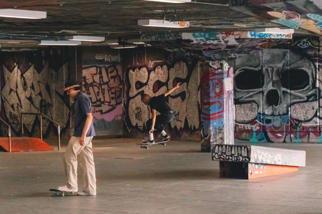 London skate park