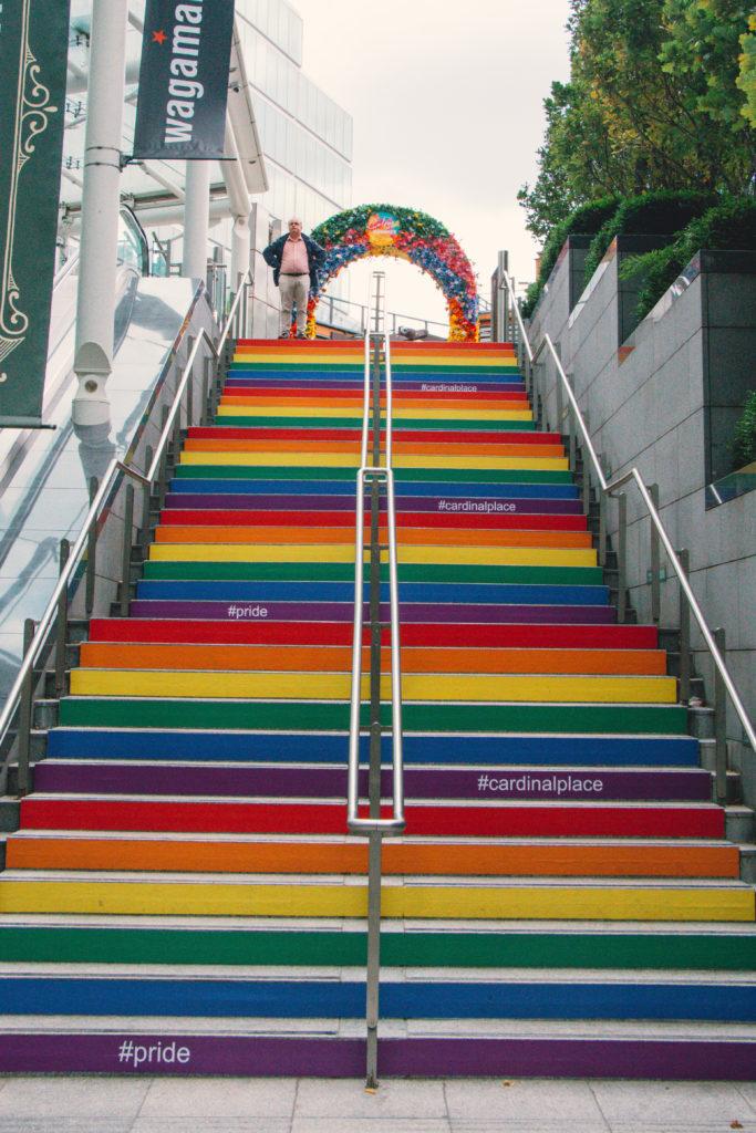 London pride stairs